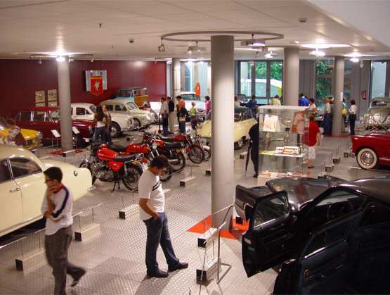 Exhibition at Automotive Museum